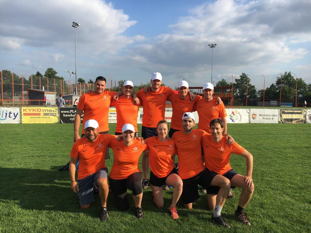 We Scored at RICS Charity Softball