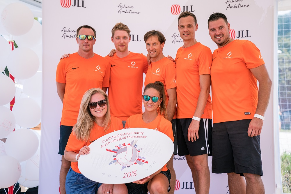 5th Place at JLL Volleyball Tournament