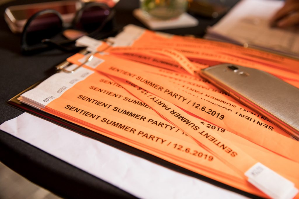 Sentient Summer Party: Business and Charity Combined