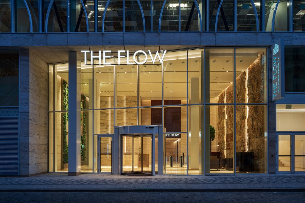 The Flow Building Completed